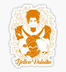 Yellow Paladin Sticker