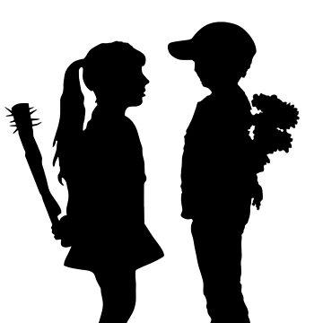Banksy Boy Meets Girl! by ThatMerchStore