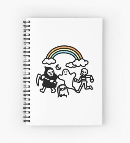 Spooky Pals Spiral Notebook