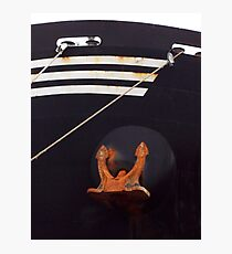 Bow and Anchor Photographic Print