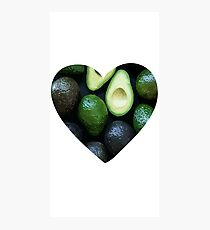 Avocado Love  Photographic Print