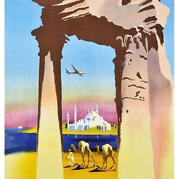 Le Proche Orient Affiche L'Art Déco by Goosekaid