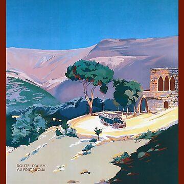 Le Liban Affiche L'Art Déco by Goosekaid