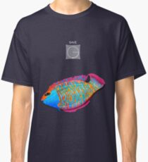 Save the Fish - Detroit become Human (Good for Coloured shirts) Classic T-Shirt