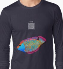 Save the Fish - Detroit become Human (Good for Coloured shirts) Long Sleeve T-Shirt
