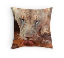The quench  Throw Pillow