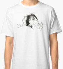 Elio and Oliver CMBYN Call me By Your Name line art Classic T-Shirt