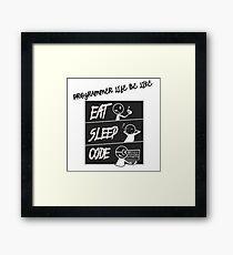 Software Engineer Framed Print