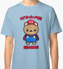 Bear Cute Funny Kawaii Mario Parody Classic T-Shirt