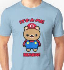 Bear Cute Funny Kawaii Mario Parody Unisex T-Shirt