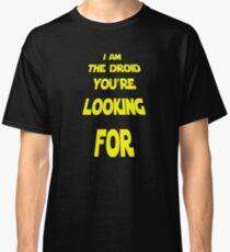 Driod Cool Classic Sci-Fi Movie Design Classic T-Shirt