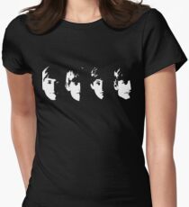 with the beatles Women's Fitted T-Shirt