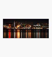 Erie Pa Skyline Photographic Print
