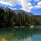 Carezza lake by annalisa bianchetti