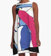 Pop Culture Design 2 A-Line Dress