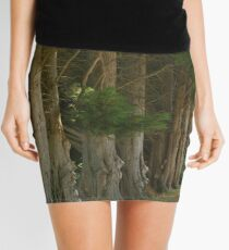 Wind Break Mini Skirt