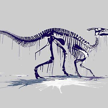 Drip Dry Hadrosaur by siege103