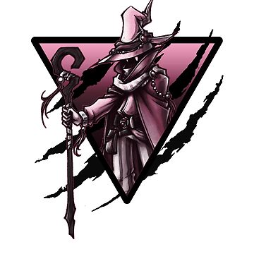 black mage triangle (red version) by Zenixer