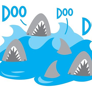 Doo Doo Doo Doo sharks by jazzydevil