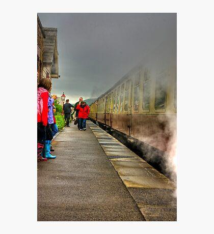 On The Platform  - Levisham Station Photographic Print