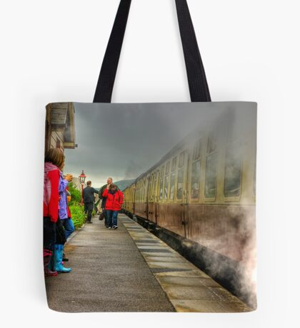On The Platform  - Levisham Station Tote Bag