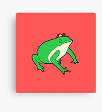 Slippy Toad Canvas Print