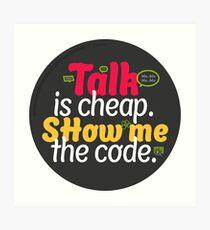 Show me the Code T-Shirt Art Print