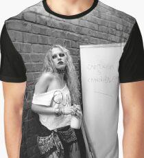 Bad girl - Holga - Lomography Graphic T-Shirt