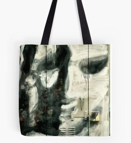 Face Of A City Cry Tote Bag