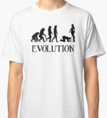 Femdom BDSM Evolution Classic T-Shirt