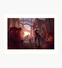 NieR: Automata - Welcome to the Amusement Park Art Print
