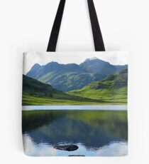 The Lake District: Reflecting on The Langdales Tote Bag