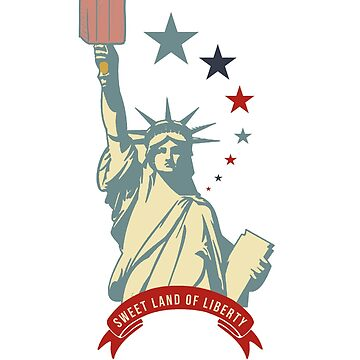 Statue Of Liberty 4th Of July T Shirt Gift by eaglestyle