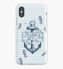 Anchor of Life iPhone Case