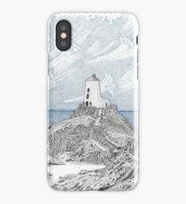 Ynys Llanddwyn Lighthouse iPhone Case