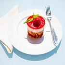 Strawberry Cake by Mats Silvan