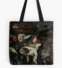 Hell, The Garden of Earthly Delights - Hieronymus Bosch Tote Bag
