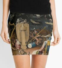 Hell, The Garden of Earthly Delights - Hieronymus Bosch Mini Skirt