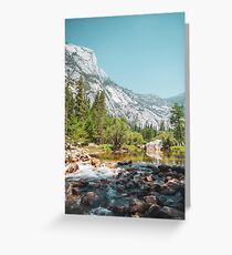 Emerald Pool at Yosemite Greeting Card