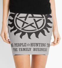 SUPERNATURAL - WINCHESTER BROTHERS Mini Skirt