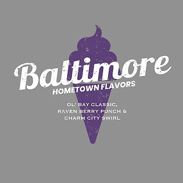 Baltimore (Purple) Hometown Flavors by SeenCity