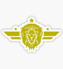 Lion Lion Sticker