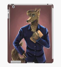 Anthro Coyote Portrait iPad Case/Skin