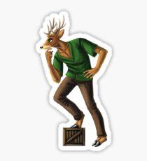 Deer Portrait Sticker