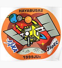 Hayabusa 2 Programm Logo Poster