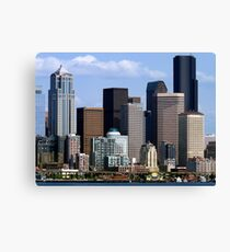 Seattle Skyline Two Canvas Print