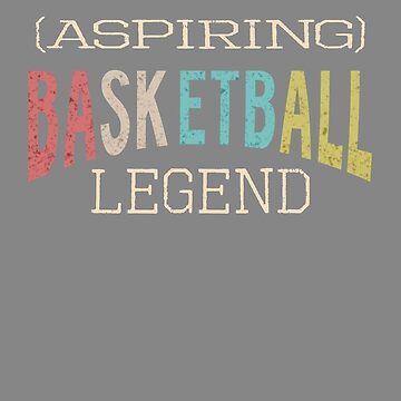 Vintage Basketball legend gift by LGamble12345