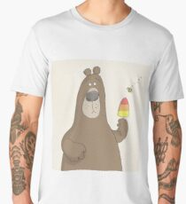 Bear and Bee Men's Premium T-Shirt