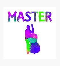 Double Bass Master (Magical Transformation version) Photographic Print