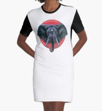 Elephant Memory Systems Graphic T-Shirt Dress